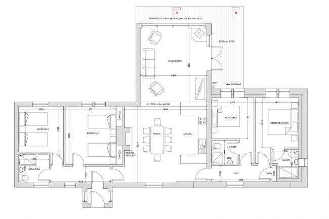 Balbeg Cottage Floor plan