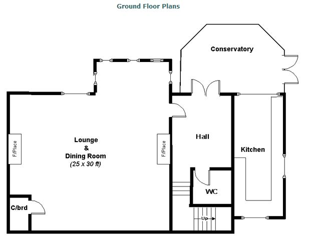 Floor Plan Balcraig House