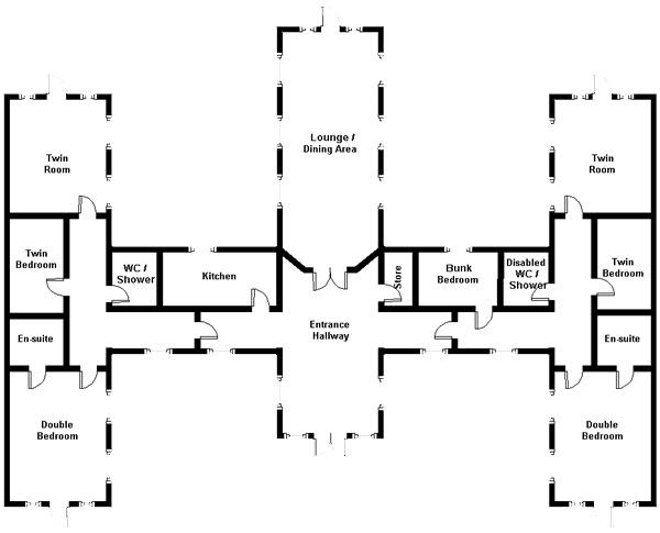 Rabbie Burns Lodge plans